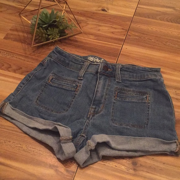 Mossimo Supply Co. Pants - High waisted denim shorts